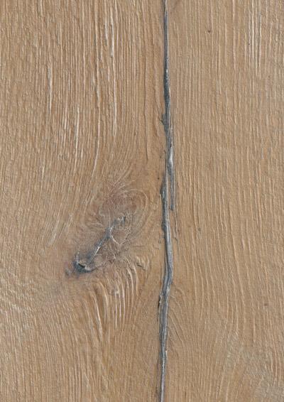 Bywood Plankegulv, 22 cm, Old Wood, Eg, Dybdebørstet, Hvidvasket, Olieret, med lange fyldte svindrevner