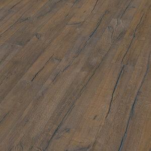 Bywood Plankegulv, 22 cm, Old Wood, Eg, Dybdebørstet, Gråbejdset, Olieret, med lange fyldte svindrevner
