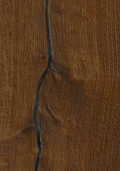 Bywood XXL-Plankegulv, Mørkrøget eg, Rustik, Dybdebørstet, Olieret, med lange fyldte svindrevner