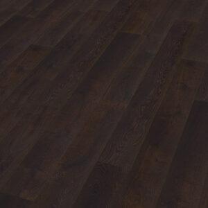 Bywood Plankegulv, Mørk-røget eg, Struktur, Børstet, Olieret