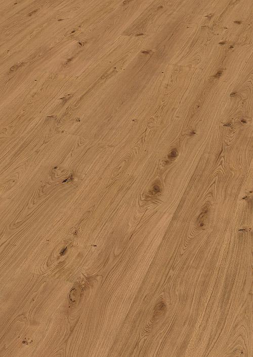 Bywood XL-Plankegulv, Eg, Bondehus, Børstet, 'Authentic', Olieret