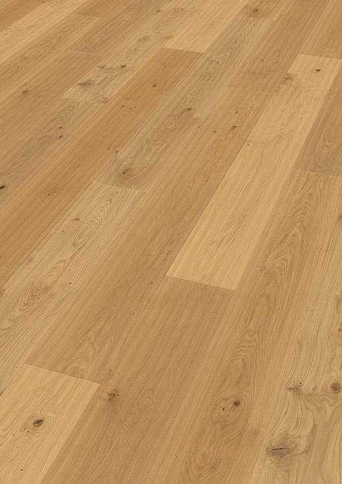 Bywood Plankegulv, Lysnet, Eg, XL, Struktur, Håndhøvlet, Olieret