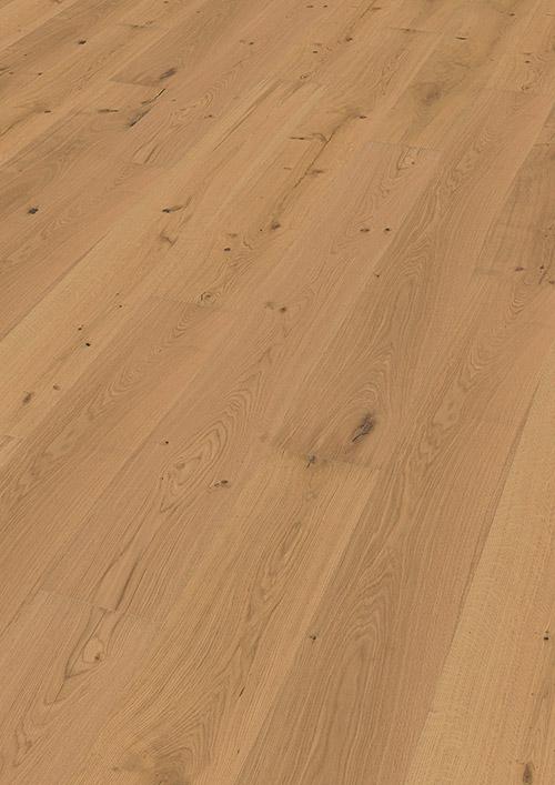 Bywood Plankegulv, Lysnet, Eg, XL, Struktur, Børstet, Olieret