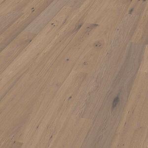 Bywood Plankegulv, Røget eg, Struktur, Børstet, Hvidolieret