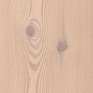 Bywood Nåletræsplankegulv, Lærk, Struktur, Børstet, Hvidolieret