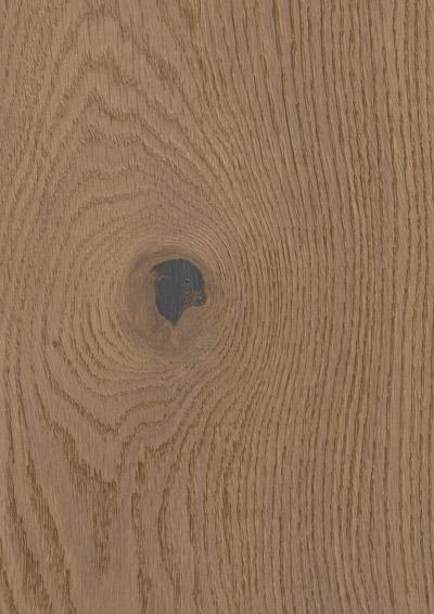 Bywood XL-Plankegulv, Røget eg, Struktur, Børstet, Hvidolieret
