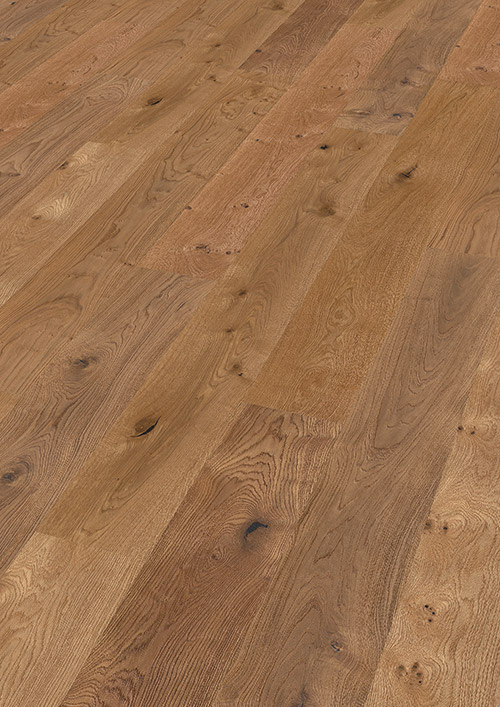 Bywood XL-Plankegulv, Eg, Rustik, Dybdebørstet, Olieret