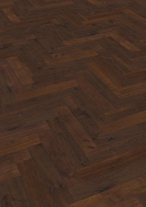 Bywood Maxistav, 12 cm, Mørkrøget eg, Natur, Børstet, Mørkebrunt olieret