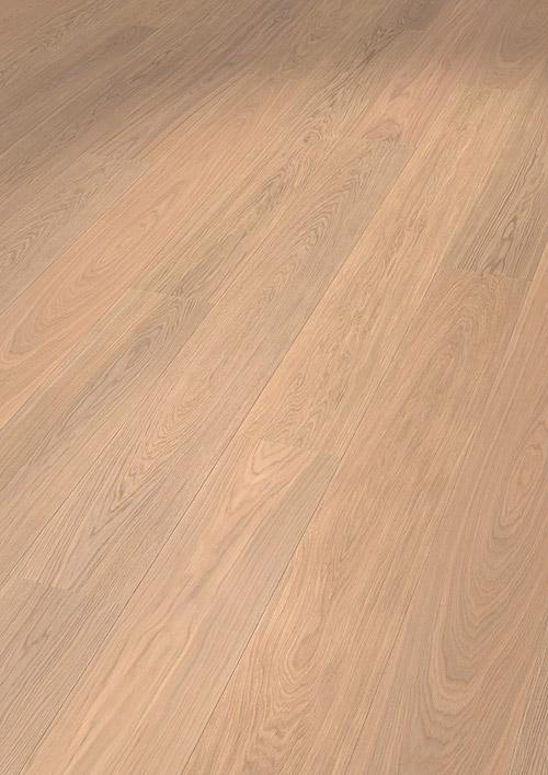 Bywood Bruno XL Plankegulv, Eg, Natur, Børstet, Hvidolieret