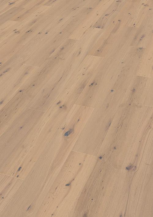 Bywood Plankegulv, Råtræs-udseende, Eg, Struktur, Håndhøvlet, Neutral olieret