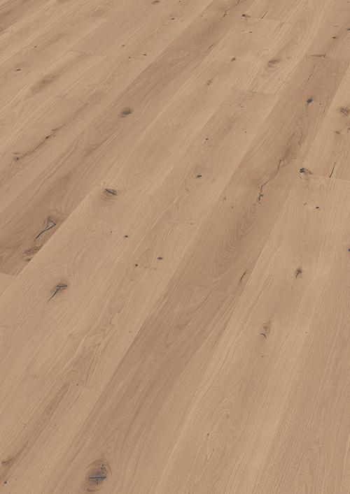 Bywood Plankegulv, Råtræs-udseende, XL, Eg, Struktur, Håndhøvlet, Neutral olieret