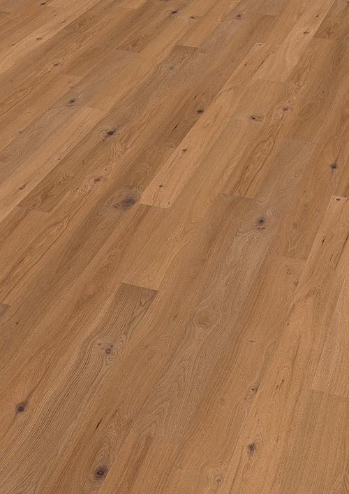 Bywood Plankegulv, Eg, Struktur, Børstet, Olieret