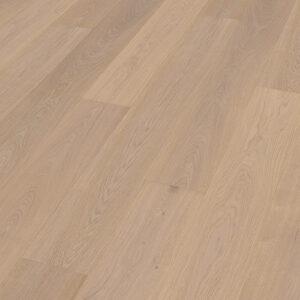 Bywood XL-Plankegulv, Eg, Natur, Børstet, Hvidolieret