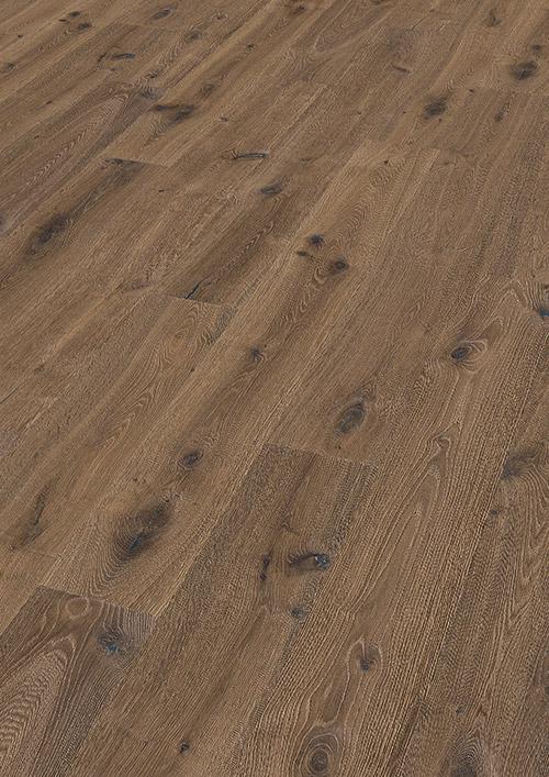 Bywood XL-Plankegulv, Eg, Natur, Børstet, 'Ørken' Olieret