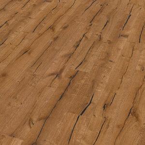 Bywood Plankegulv, Old Fashion' Antik, Eg, Dybdebørstet, Olieret, med lange fyldte svindrevner