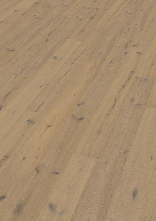 Bywood Plankegulv, Vintage, Eg, Lysegråt olieret