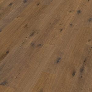 Bywood Plankegulv, Råtræs-udseende, Røget eg, Råt udseende, Håndhøvlet, Børstet, Neutral olieret