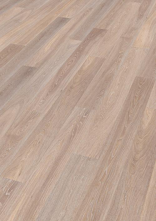Bywood Plankegulv, Eg, Natur, Børstet, Hvidvasket, Hvidolieret
