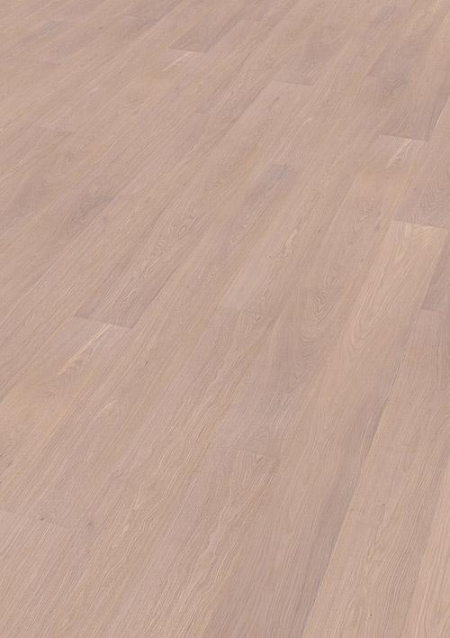 Bywood Plankegulv, Eg, Natur, Børstet, Hvidolieret
