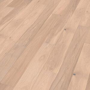 Bywood Plankegulv, Eg, Bondehus, Glat, Hvidolieret
