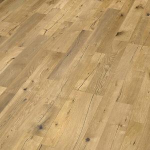 Bywood XL-Plankegulv, Eg, Struktur, Børstet, Olieret