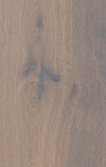 Bywood Plankegulv, Antik, Røget eg, Glat, Hvidolieret