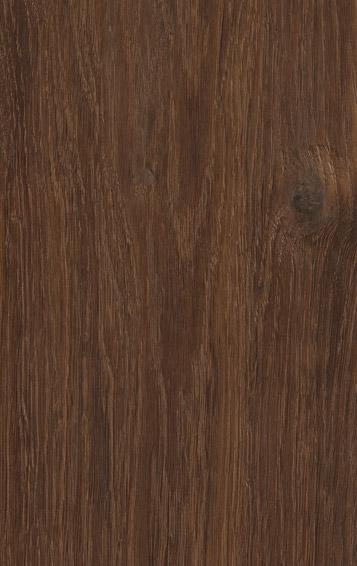 Bywood Plankegulv Antik, Røget eg, Børstet, Håndhøvlet, Mørkebrunt olieret med udfaldne knaster