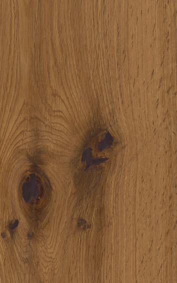 Bywood Plankegulv, Røget eg, Struktur, Børstet, Matlakeret